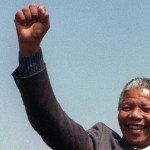 Nelson Mandela, le 5 septembre 1990. Copyrights Trevor Samson / AFP / Getty Images
