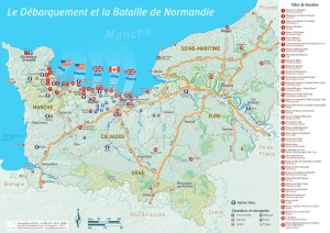 carte-debarquement-bataille-de-Normandie-sites-musees-cimetieres-Office-Tourisme